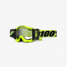 Очки 100% Accuri Forecast Fluo Yellow / Clear Lens (50220-004-02)