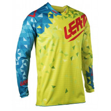 Джерси Leatt GPX 4.5 Lite Lime/Teal размер:M (5018700181)