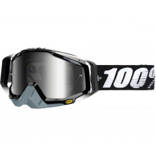 Очки 100% Racecraft Abyss Black / Mirror Silver Lens (50110-001-02)