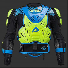 Защита ACERBIS COSMO ROOST DEFLECTOR LEVEL2 2.0 размер:S/M желто/синий 0017178.274.063