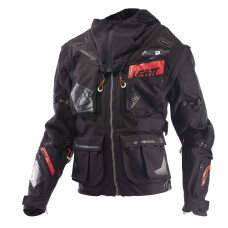 Куртка Leatt GPX 5.5 Enduro Jacket Black/Grey размер:M (5017810361)