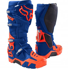Мотоботы Fox Instinct Off Road Boot Blue размер:10 17802-002-10