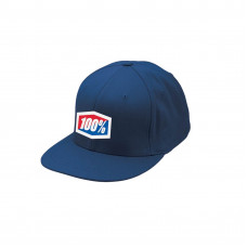 Бейсболка 100% Essential J-Fit Flexfit Hat Navy размер;S/M (20040-015-17)