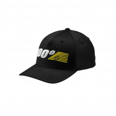 Бейсболка 100% Starlight Flexfit Hat Black размер;S/M (20060-001-17)