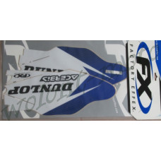 НАКЛЕЙКИ НА ЗАЩИТУ ВИЛКИ FACTORY EFFEX SPONSOR LOWER FORK GRAPHIC KIT  13-40266  YZ250F/450F 10-11