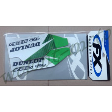 НАКЛЕЙКИ НА ЗАЩИТУ ВИЛКИ FACTORY EFFEX LOWER FORK GRAPHICS  14-40160  KAWASAKI KX250F/450F 06-08, KX