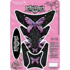 Наклейка на бак LETHAL THREAT PURPLE BUTTERFLY LT70065